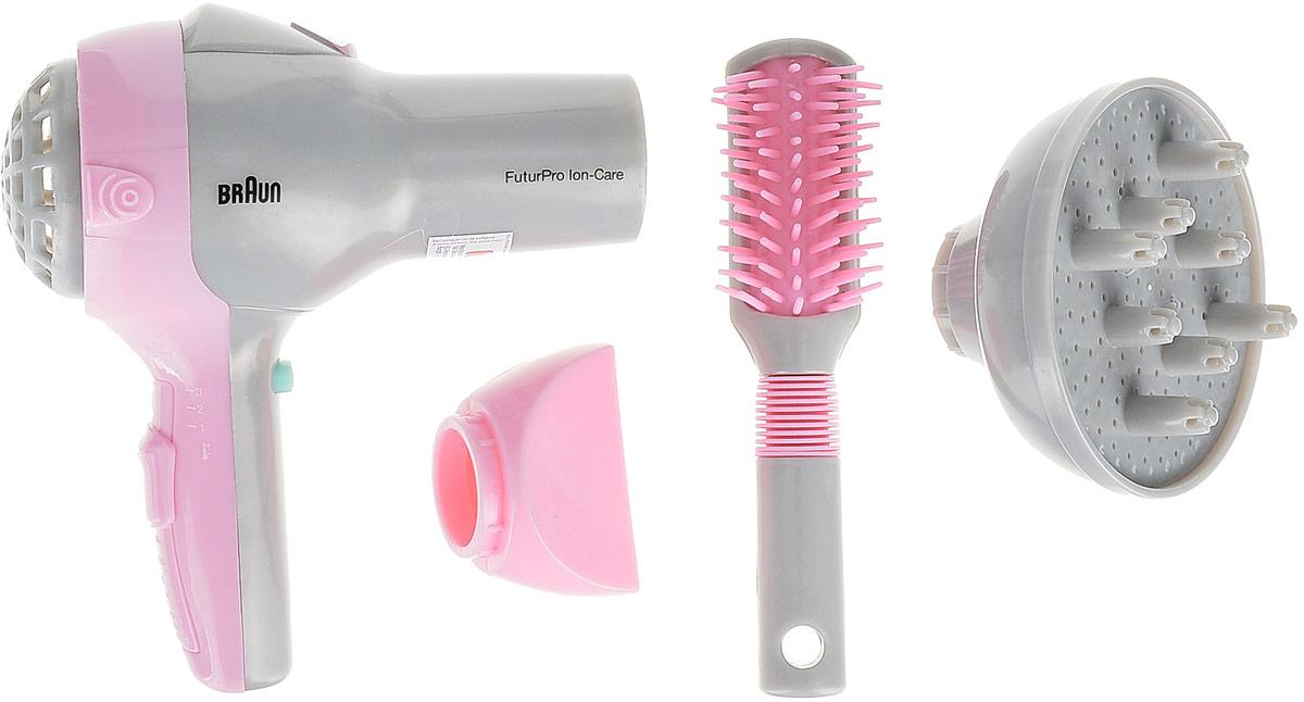 Игровой набор Klein  Braun. Набор парикмахера , 4 предмета - Сюжетно-ролевые игрушки