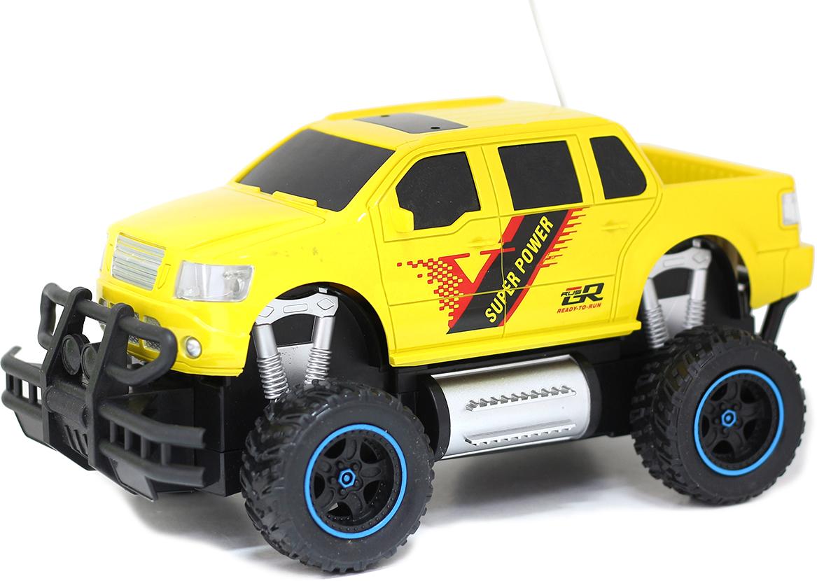 Taiko Джип внедорожник на радиоуправлении цвет желтый 0404