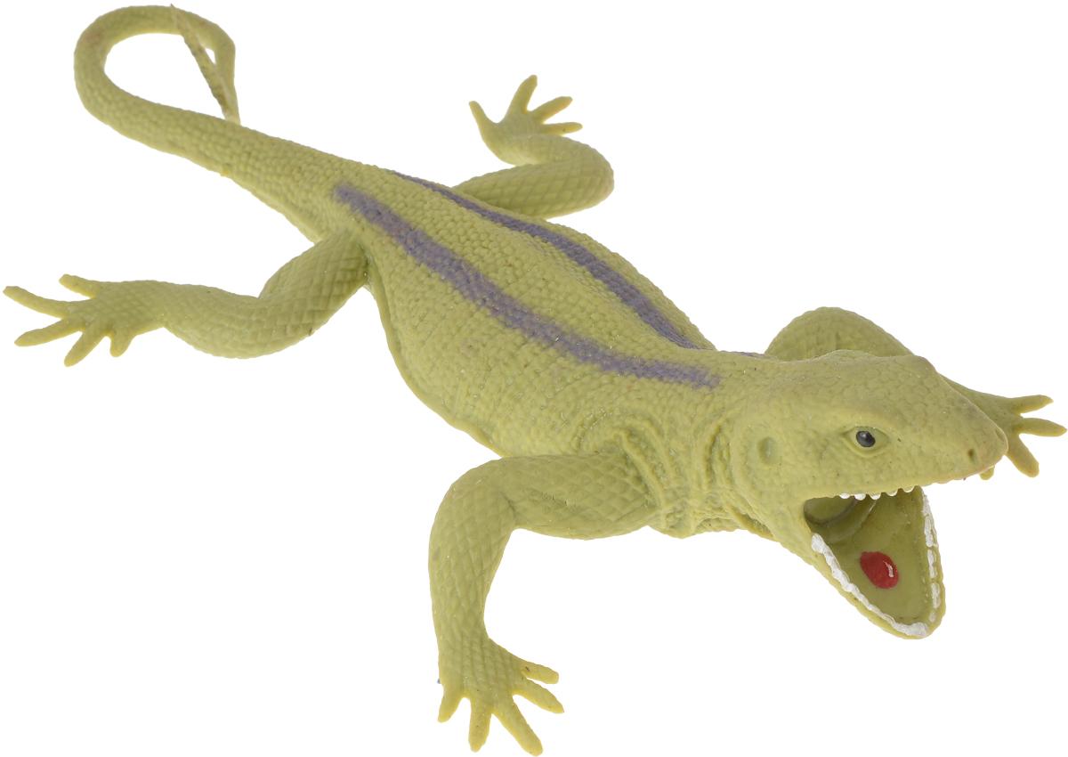 Играем вместе Игрушка Ящерица-тянучка цвет зеленый белый