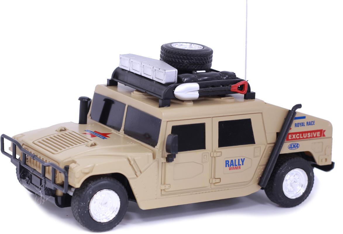 Taiko Джип военный на радиоуправлении цвет бежевый 0420