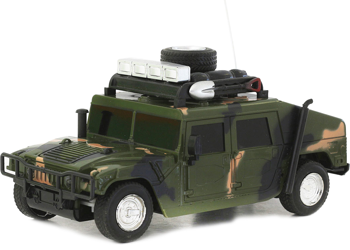 Taiko Джип военный на радиоуправлении цвет темно-зеленый 0420