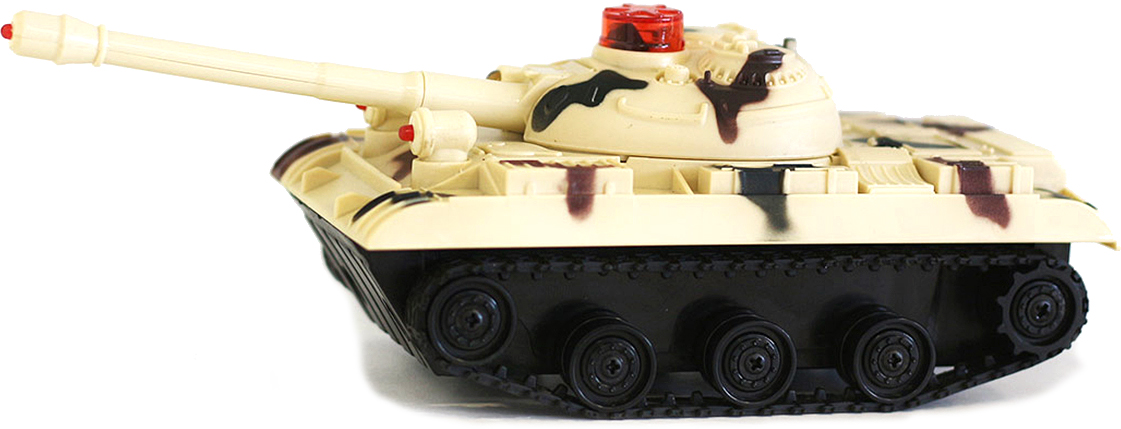 Taiko Набор Танковый бой 2 танка на радиоуправлении цвет бежевый 0430 - Радиоуправляемые игрушки