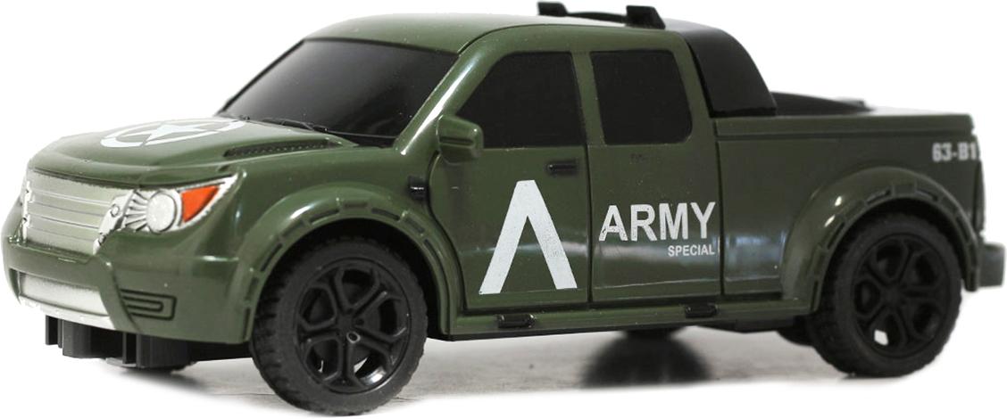 Taiko Джип военный на радиоуправлении цвет темно-зеленый 0461