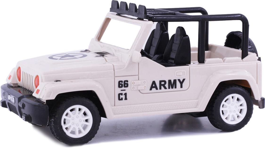 Taiko Джип военный на радиоуправлении цвет бежевый 0464