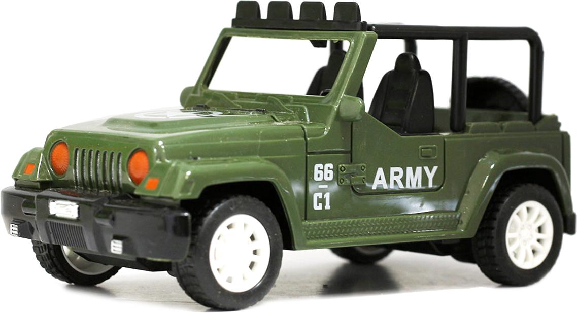 Taiko Джип военный на радиоуправлении цвет темно-зеленый 0464