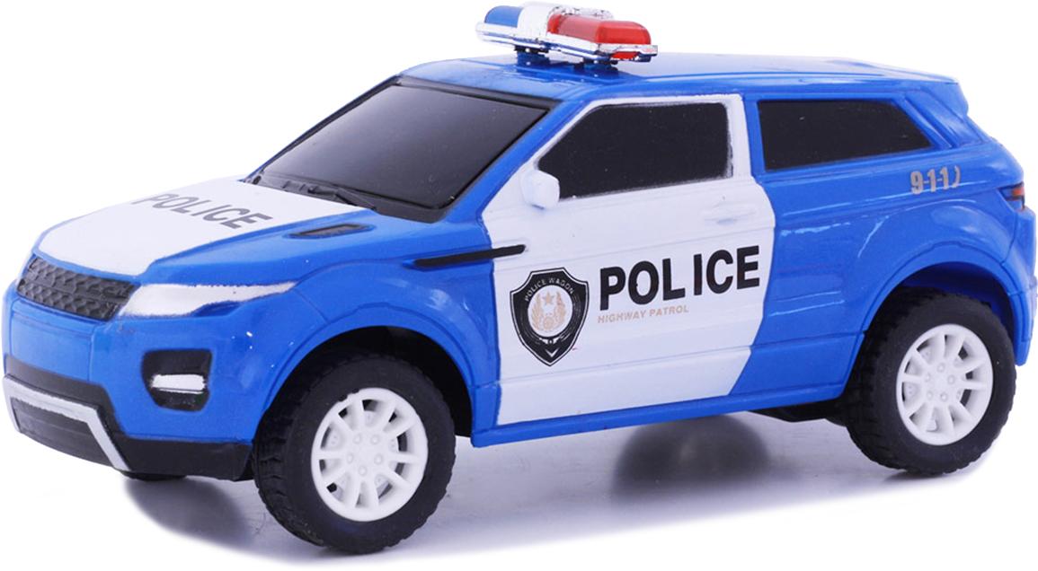 Taiko Джип Полиция на радиоуправлении цвет синий 0467