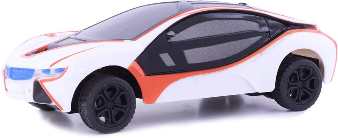 Taiko Машина спортивная на радиоуправлении цвет белый оранжевый 0469