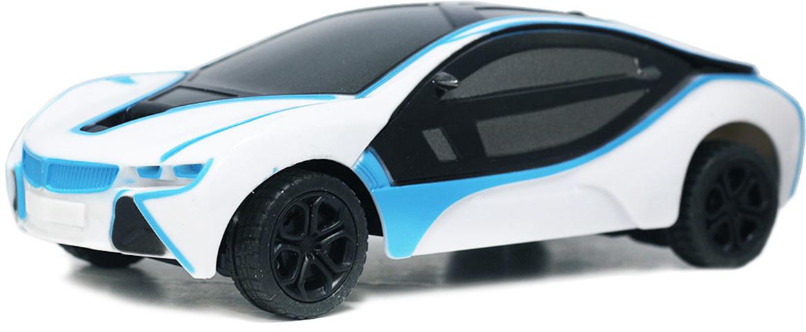 Taiko Машина спортивная на радиоуправлении цвет белый синий 0469