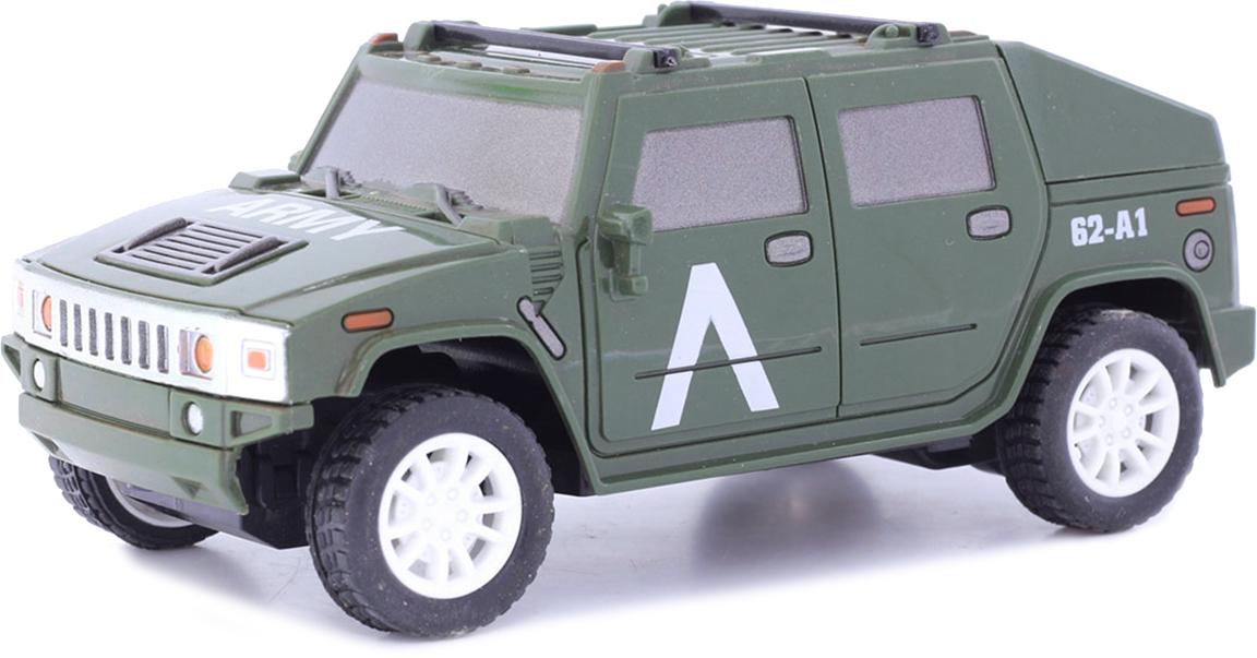Taiko Джип военный на радиоуправлении цвет темно-зеленый 0470