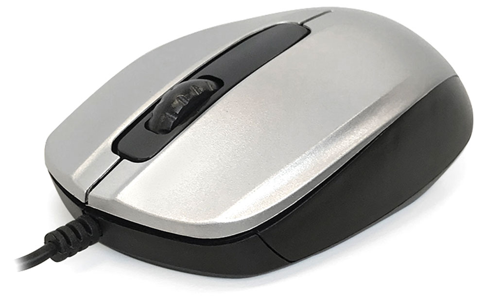 CBR CM 117, Silver мышь