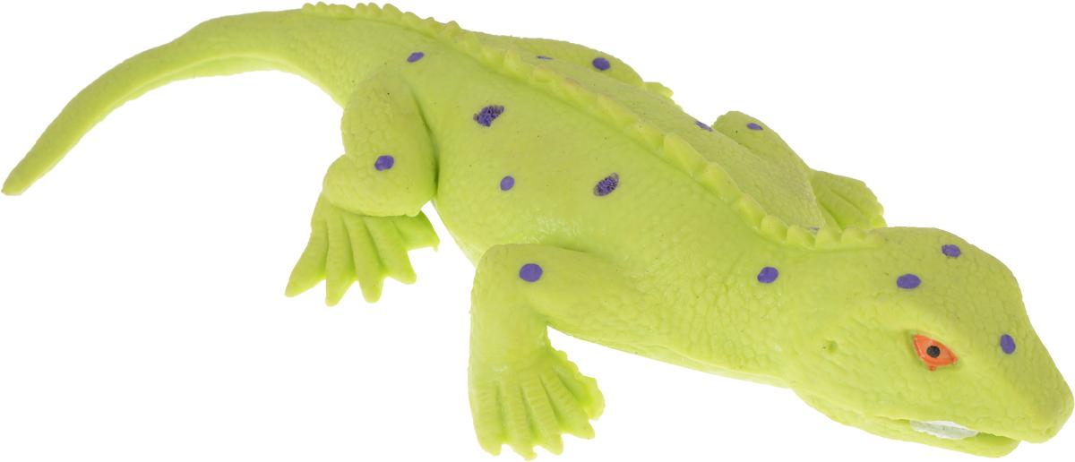 Играем вместе Игрушка Ящерица-тянучка цвет салатовый фиолетовый