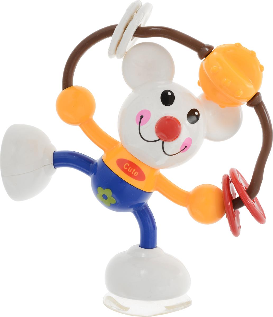 Ути-Пути Развивающая игрушка Мышка цвет белый синий желтый elc развивающая игрушка мышка на скутере цвет красный