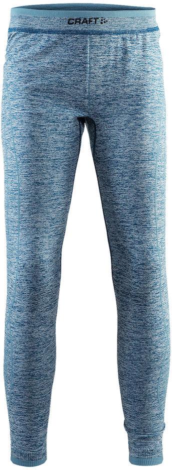 Термобелье брюки детские Craft Active Comfort, цвет: синий меланж. 1903778/В370. Размер 134/1401903778/В370Мягкая и эластичная, легкая, но согревающая ткань термобелья сохранит ваше тело в тепле, сухости и комфорте. Прекрасная терморегуляция. Свободный крой. Плоские швы следуют за движениями тела. Различные зоны плотности материала с учетом картографии тела. Бесшовный дизайн для оптимальный свободы движений.