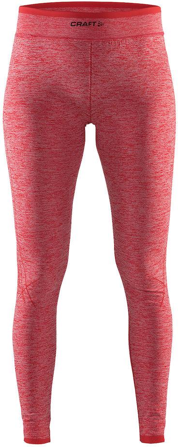 Термобелье брюки женские Craft Active Comfort, цвет: красный меланж. 1903715/В452. Размер L (48)1903715/В452Мягкая и эластичная, легкая, но согревающая ткань термобелья сохранит ваше тело в тепле, сухости и комфорте. Прекрасная терморегуляция. Свободный крой. Плоские швы следуют за движениями тела. Различные зоны плотности материала с учетом картографии тела. Бесшовный дизайн для оптимальный свободы движений.