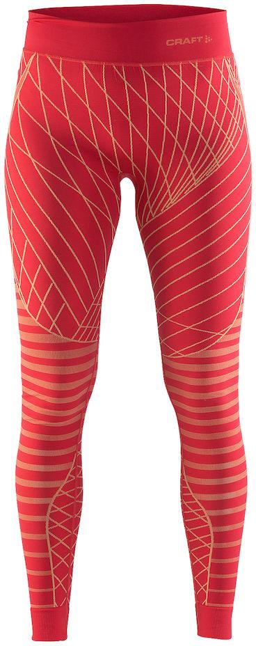 Термобелье брюки женские Craft Active Intensity, цвет: красный. 1905336/452563. Размер M (46)1905336/452563Мягкая и эластичная, легкая, но согревающая ткань термобелья сохранит ваше тело в тепле, сухости и комфорте. Прекрасная терморегуляция. Плоские швы следуют за движениями тела. Различные зоны плотности материала с учетом картографии тела. Бесшовный дизайн для оптимальный свободы движений.