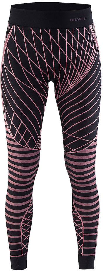 Термобелье брюки женские Craft Active Intensity, цвет: сиреневый. 1905336/751801. Размер XL (50)1905336/751801Мягкая и эластичная, легкая, но согревающая ткань термобелья сохранит ваше тело в тепле, сухости и комфорте. Прекрасная терморегуляция. Плоские швы следуют за движениями тела. Различные зоны плотности материала с учетом картографии тела. Бесшовный дизайн для оптимальный свободы движений.