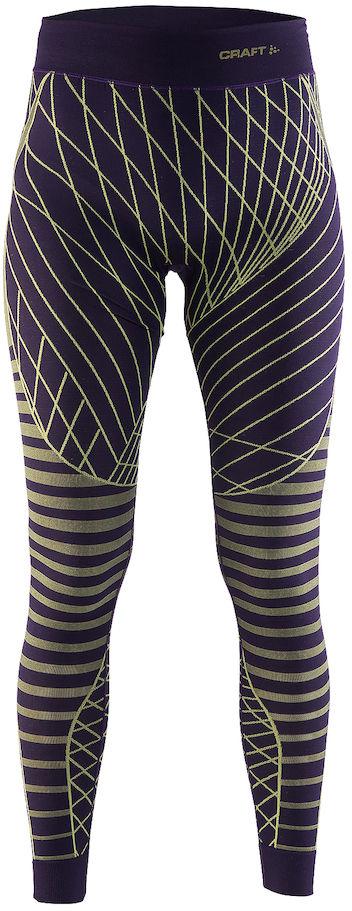 Термобелье брюки женские Craft Active Intensity, цвет: фиолетовый. 1905336/751603. Размер XS (42)1905336/751603Мягкая и эластичная, легкая, но согревающая ткань термобелья сохранит ваше тело в тепле, сухости и комфорте. Прекрасная терморегуляция. Плоские швы следуют за движениями тела. Различные зоны плотности материала с учетом картографии тела. Бесшовный дизайн для оптимальный свободы движений.