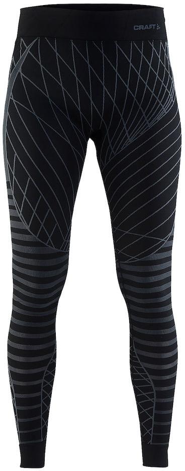 Термобелье брюки женские Craft Active Intensity, цвет: черный. 1905336/999985. Размер L (48)1905336/999985Мягкая и эластичная, легкая, но согревающая ткань термобелья сохранит ваше тело в тепле, сухости и комфорте. Прекрасная терморегуляция. Плоские швы следуют за движениями тела. Различные зоны плотности материала с учетом картографии тела. Бесшовный дизайн для оптимальный свободы движений.