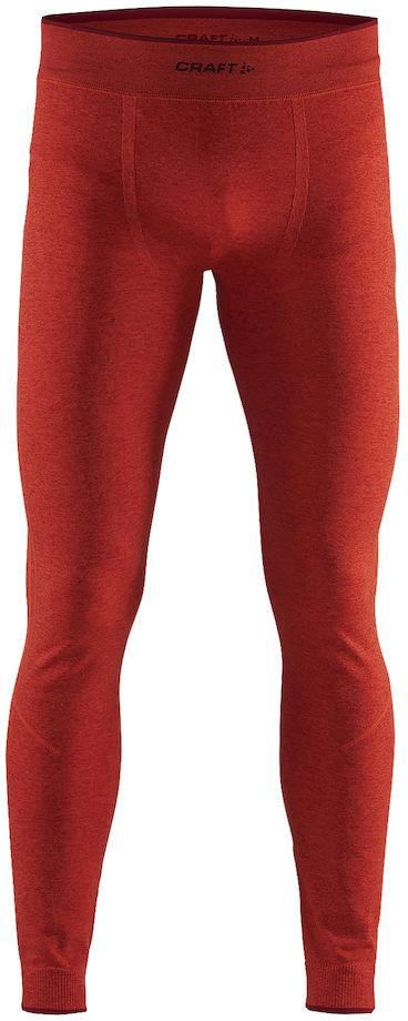 Термобелье брюки мужские Craft Active Comfort, цвет: красный меланж. 1903717/В566. Размер S (46)1903717/В566Мягкая и эластичная, легкая, но согревающая ткань термобелья сохранит ваше тело в тепле, сухости и комфорте. Прекрасная терморегуляция. Свободный крой. Плоские швы следуют за движениями тела. Различные зоны плотности материала с учетом картографии тела. Бесшовный дизайн для оптимальный свободы движений.