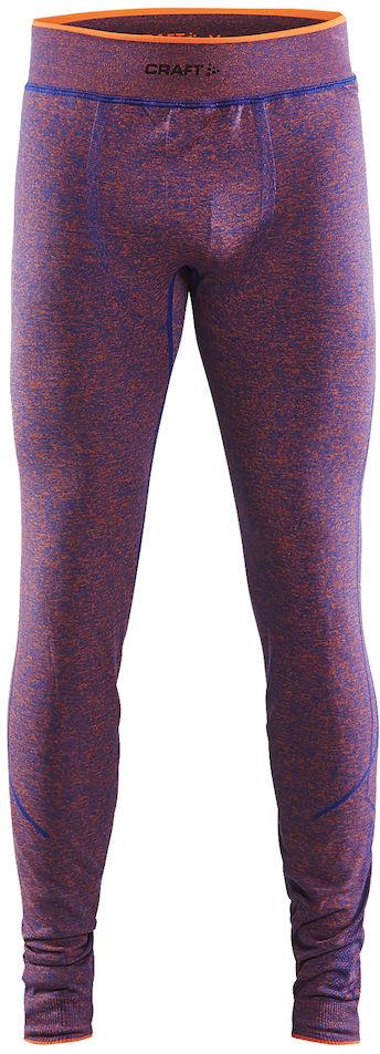 Термобелье брюки мужские Craft Active Comfort, цвет: фиолетовый. 1903717/В386. Размер S (46)1903717/В386Мягкая и эластичная, легкая, но согревающая ткань термобелья сохранит ваше тело в тепле, сухости и комфорте. Прекрасная терморегуляция. Свободный крой. Плоские швы следуют за движениями тела. Различные зоны плотности материала с учетом картографии тела. Бесшовный дизайн для оптимальный свободы движений.
