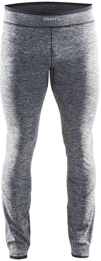 Термобелье брюки мужские Craft Active Comfort, цвет: серый меланж. 1903717/В999. Размер L (50)1903717/В999Мягкая и эластичная, легкая, но согревающая ткань термобелья сохранит ваше тело в тепле, сухости и комфорте. Прекрасная терморегуляция. Свободный крой. Плоские швы следуют за движениями тела. Различные зоны плотности материала с учетом картографии тела. Бесшовный дизайн для оптимальный свободы движений.