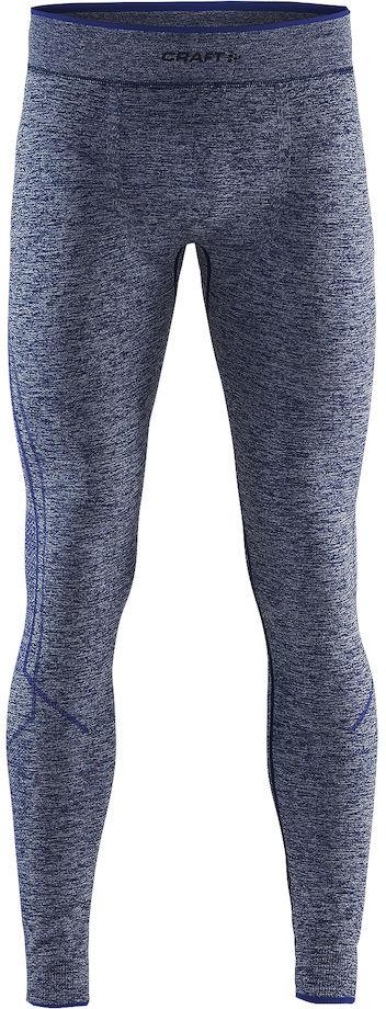 Термобелье брюки мужские Craft Active Comfort, цвет: синий меланж. 1903717/В392. Размер XXL (54)1903717/В392Мягкая и эластичная, легкая, но согревающая ткань термобелья сохранит ваше тело в тепле, сухости и комфорте. Прекрасная терморегуляция. Свободный крой. Плоские швы следуют за движениями тела. Различные зоны плотности материала с учетом картографии тела. Бесшовный дизайн для оптимальный свободы движений.