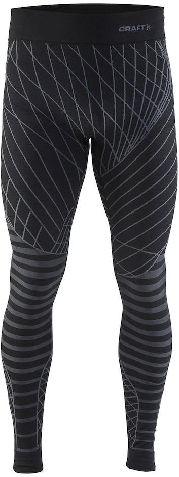 Термобелье брюки мужские Craft Active Intensity, цвет: черный. 1905340/999985. Размер L (50)1905340/999985Мягкая и эластичная, легкая, но согревающая ткань термобелья сохранит ваше тело в тепле, сухости и комфорте. Прекрасная терморегуляция. Плоские швы следуют за движениями тела. Различные зоны плотности материала с учетом картографии тела. Бесшовный дизайн для оптимальный свободы движений.