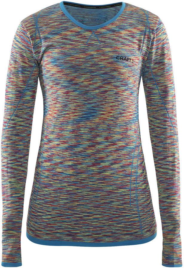 Термобелье кофта женская Craft Active Comfort, цвет: мультиколор. 1903714/В315. Размер S (44) - Одежда