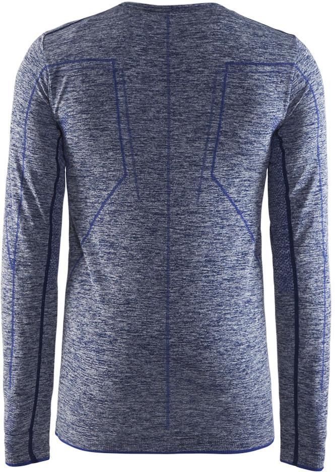 Термобелье кофта мужская Craft Active Comfort, цвет:  синий меланж.  1903716/В392.  Размер S (46)