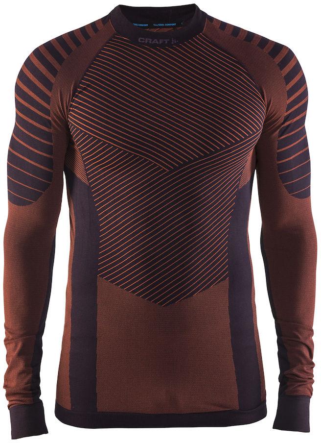 Термобелье кофта мужская Craft Active Intensity, цвет: коричневый. 1905337/480566. Размер XXL (54) - Одежда