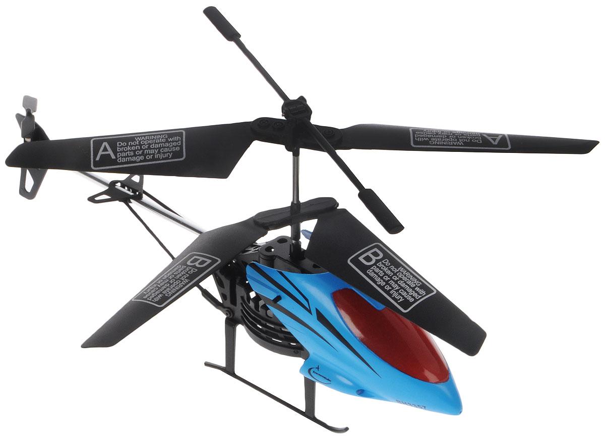 Властелин небес Вертолет на инфракрасном управлении Махаон цвет голубой