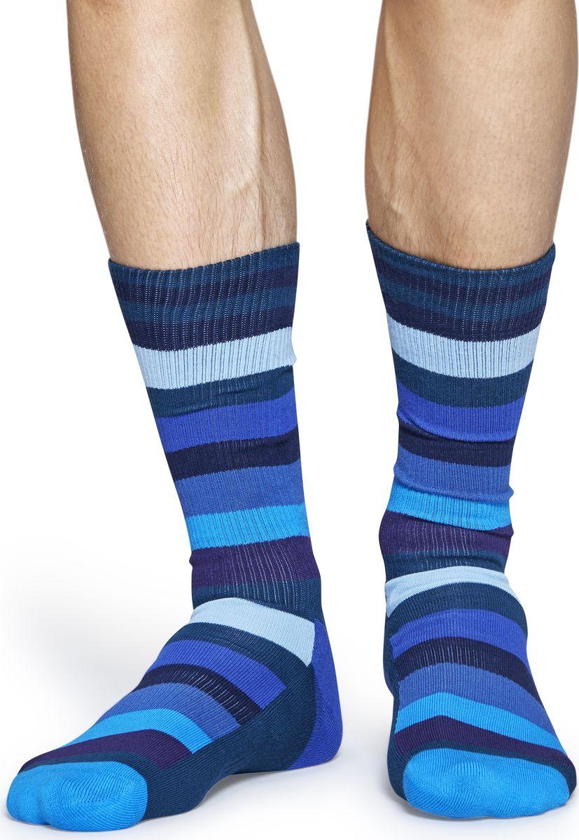 Носки Happy Socks Athletic Stripe, цвет: мультиколор. ATSTR27. Размер 41/46 футболка черная athletic