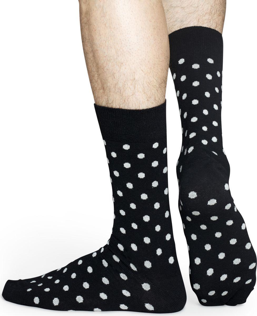 Носки Happy Socks Dot, цвет: мультиколор. DO01. Размер 41/46DO01Носки Happy Socks Argyle, изготовленные из высококачественного комбинированного материала, очень мягкие и приятные на ощупь, позволяют коже дышать. Широкая эластичная резинка плотно облегает ногу, не сдавливая ее, обеспечивая комфорт и удобство. Модель оформлена оригинальным принтом.Удобные и комфортные носки великолепно подойдут к любой вашей обуви