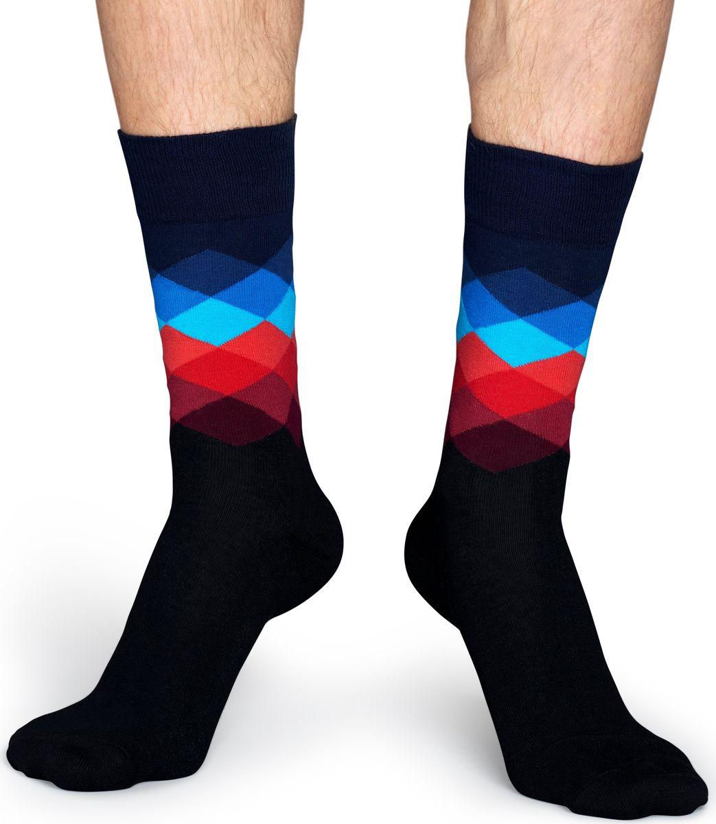Носки Happy Socks Faded Diamond, цвет: мультиколор. FD01. Размер 41/46FD01