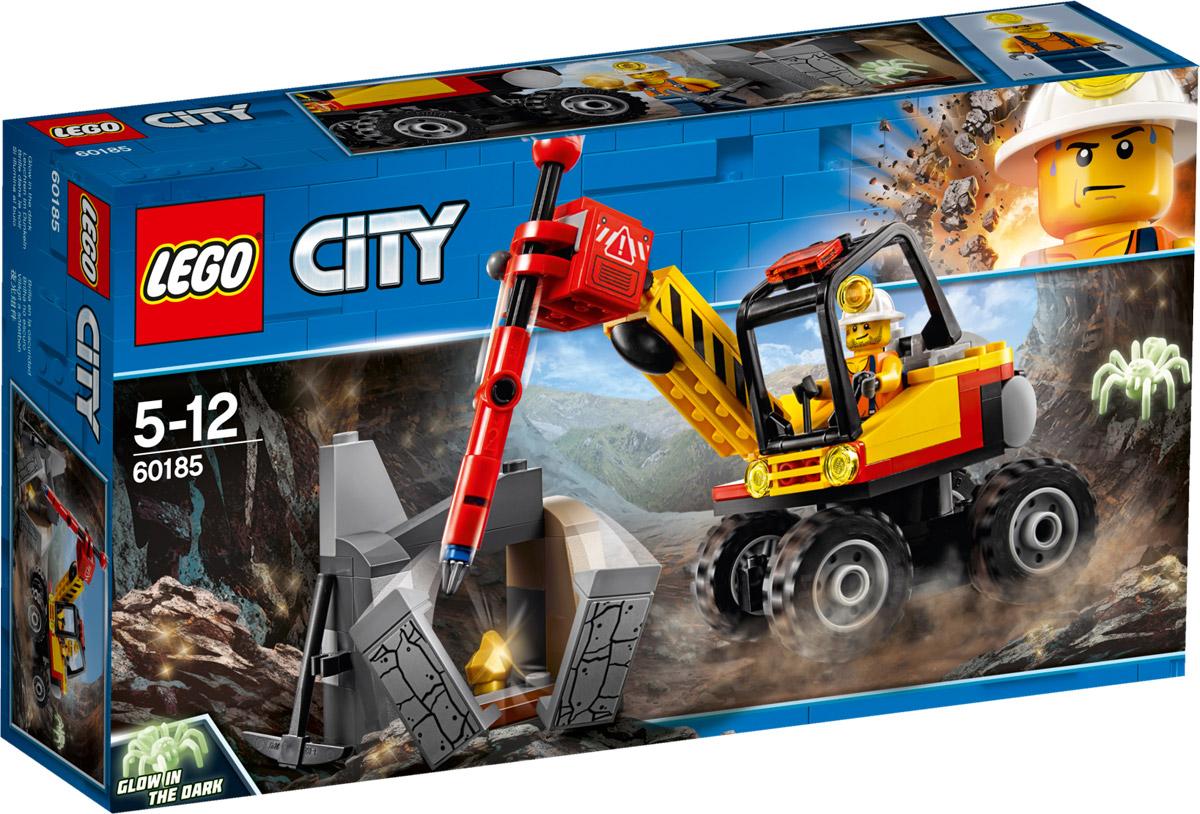 LEGO City Mining Конструктор Трактор для горных работ 60185