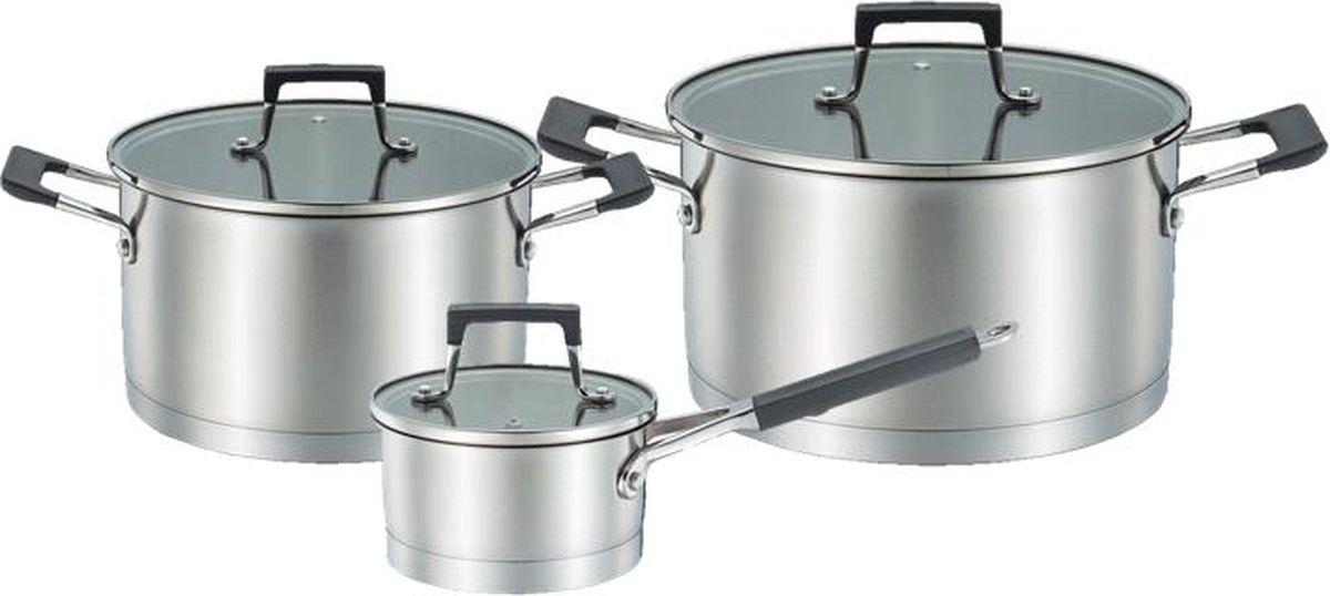 Набор посуды Esprado El Classico, 6 предметов кастрюля c крышкой 18 10 5 см 2 6 л нерж сталь turia marsala esprado trml18me101