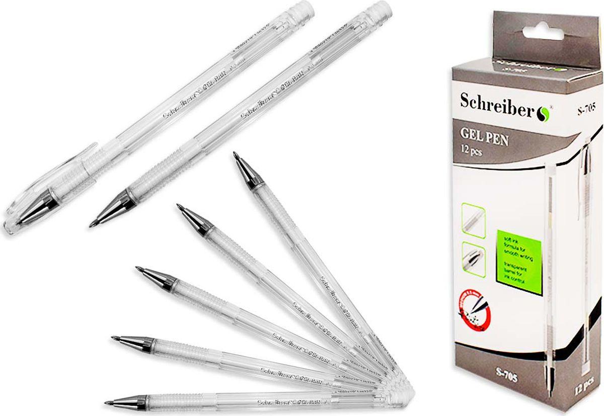 Schreiber Ручка гелевая белая S 705