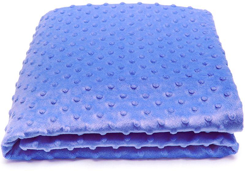 Сонный гномик Плед для новорожденных Горошек цвет синий, 90 см х 90 см570/6Плед для новорожденных Горошек прекрасно подойдет в качестве покрывала в детскую кроватку или коляску. Мягкий и приятный на ощупь материал не только подарит малышу приятные ощущения, но и согреет в прохладные дни. Красочный принт прибавит хорошего настроения, а простота в уходе за изделием обрадуют каждую маму. Плед для новорожденных Сонный гномик хорошо переносит машинную стирку, быстро сохнет и не теряет форму.