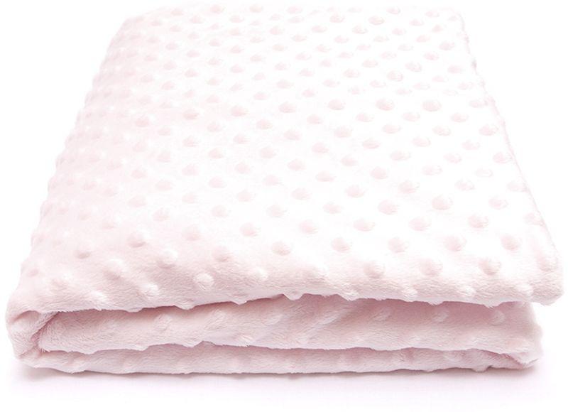 Сонный гномик Плед для новорожденных Горошек цвет розовый570/2Размер, см: 90х90. Материал верха: Плюш минки дот (Вельбоа, 100% ПЭ). Подкладка: Трикотаж (100% Хлопок). Утеплитель: Синтепон (плотность 100г/кв.м).