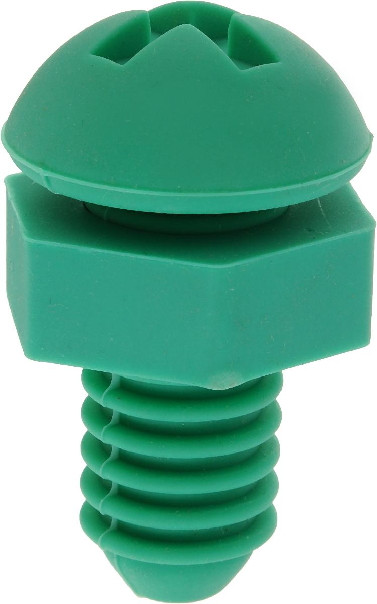 Пробка для бутылки Menu ВинтАж, цвет: зеленыйVNT-10_зеленыйПробка Menu ВинтАж, изготовленная из силикона, предназначена для открытых бутылок в целях предотвращения окисления и порчи напитков. Пробка плотно прилегает к стенкам бутылки, обеспечивая защиту от посторонних запахов и примесей при длительном хранении.Перед применением промойте пробку в теплой воде с использованием щадящих моющих средств. Рекомендуется мыть вручную.Длина пробки: 6 см.