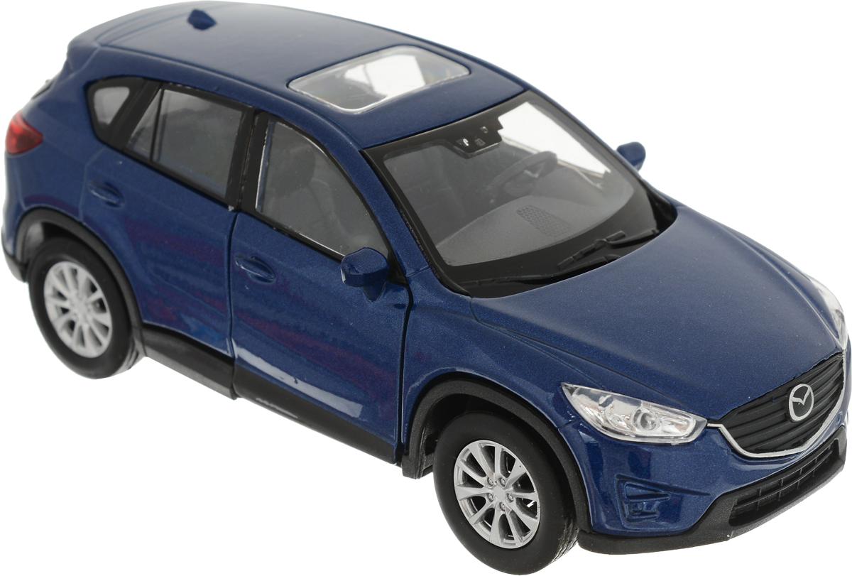 Welly Модель автомобиля Mazda CX-5 цвет синий welly модель автомобиля audi q7 цвет серый