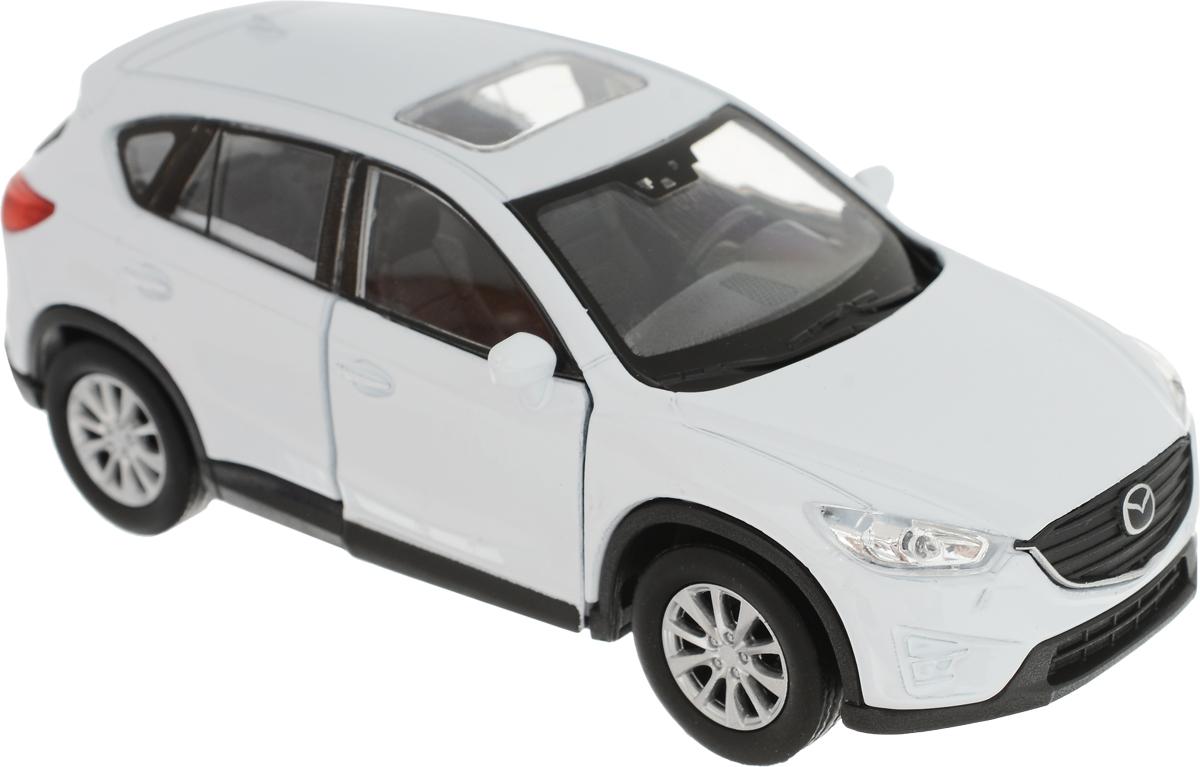 Welly Модель автомобиля Mazda CX-5 цвет белый welly модель автомобиля audi q7 цвет серый