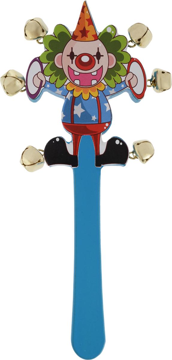 Лесная мастерская Погремушка Цирк цвет голубой конструктор лесная мастерская строительный набор 1066524