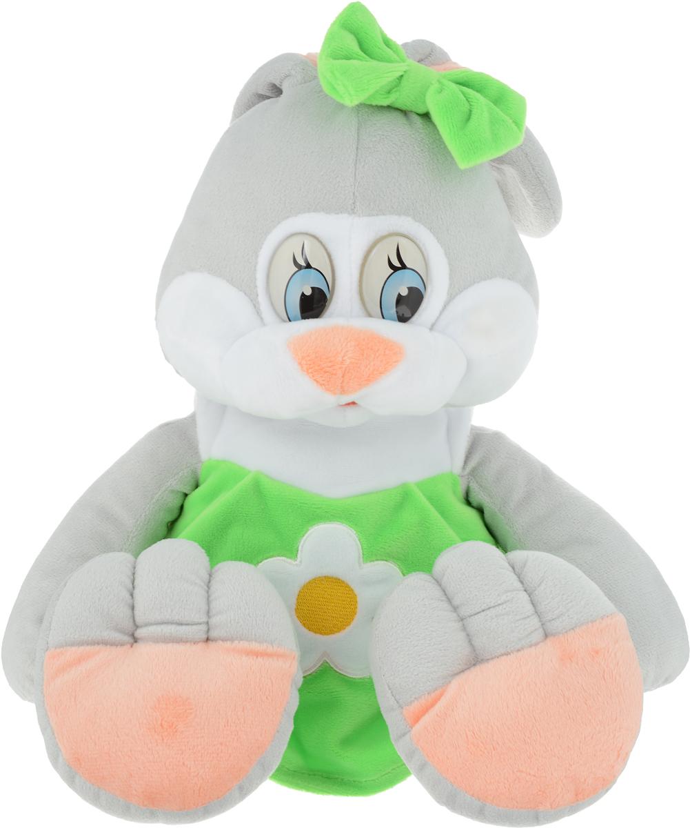 СмолТойс Мягкая игрушка Зайка Даша цвет салатовый 41 см мягкая игрушка смолтойс зайка радужный 51 см