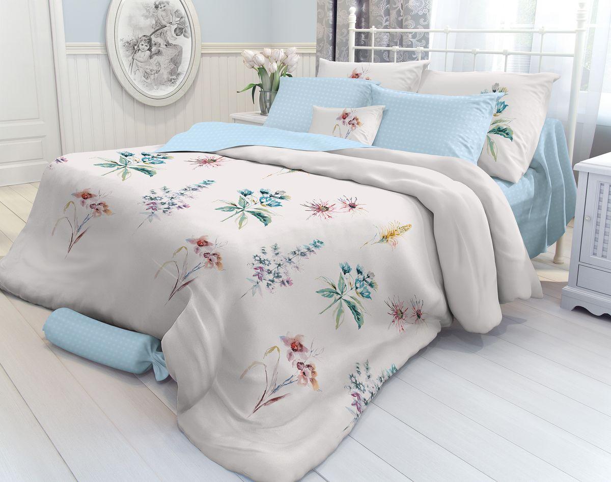 Комплект белья Verossa Field Flowers, 1,5-спальный, наволочки 70х70. 708740708740