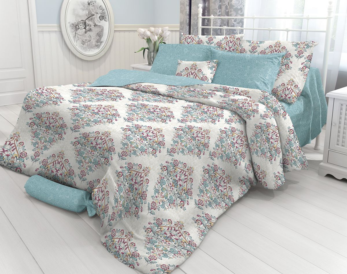 Комплект белья Verossa Luar, 2-спальный, наволочки 70х70. 717563 комплект белья василиса тауэрский мост 2 спальный наволочки 70х70
