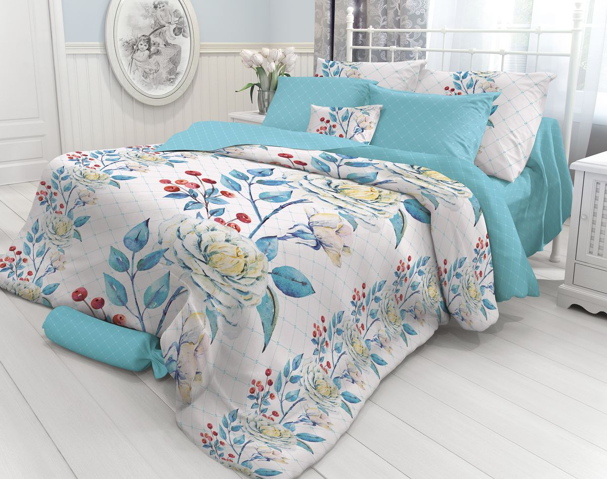 Комплект белья Verossa Porcelain, 2-спальный, наволочки 70х70. 717575 комплект белья василиса тауэрский мост 2 спальный наволочки 70х70