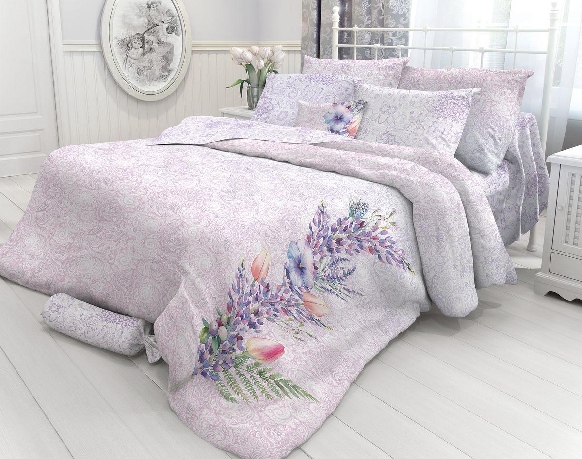 Комплект белья Verossa Luminous, 2-спальный, наволочки 50х70. 717582717582Комплект постельного белья Verossa включает в себя четыре предмета: простыню, пододеяльник и две наволочки, выполненные из перкаля. Перкаль - это тонкая, повышенной плотности в основном белая хлопчатобумажная ткань полотняного переплетения.Постельное белье Verossa предназначено для людей ценящих комфорт, стиль и высокое качество.Советы по выбору постельного белья от блогера Ирины Соковых. Статья OZON Гид