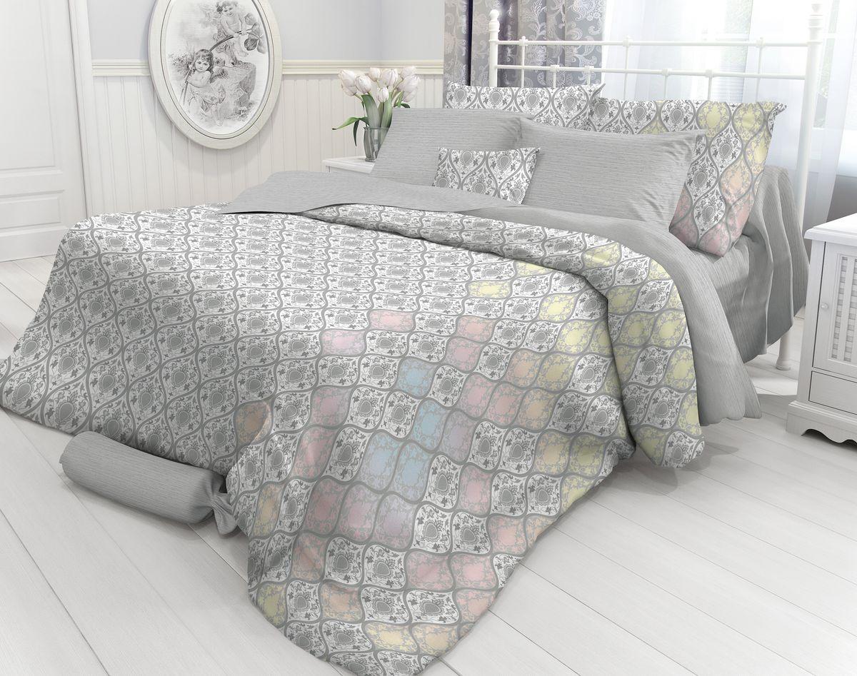 Комплект белья Verossa Damask, 2-спальный, наволочки 70х70. 718711 комплект белья василиса тауэрский мост 2 спальный наволочки 70х70