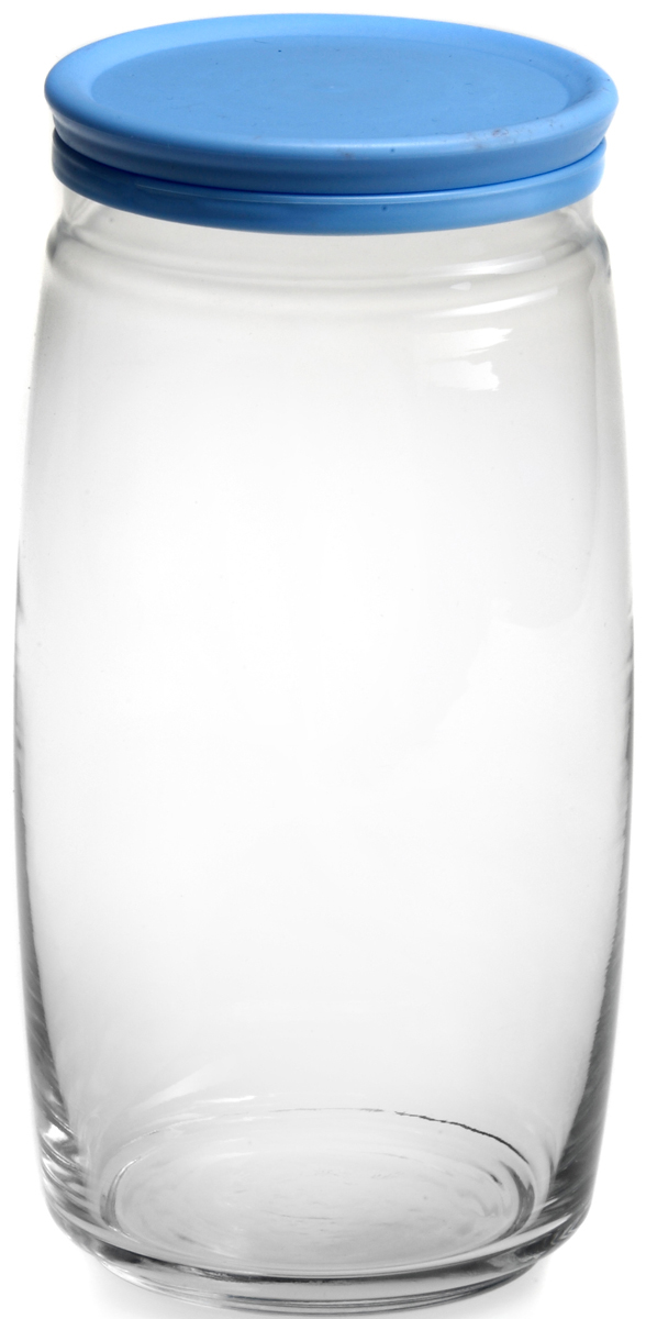 Банка для сыпучих продуктов Pasabahce Cesni, с крышкой, цвет: голубой, прозрачный, 1500 мл. 43023SLB43023SLBБанка Pasabahce Cesni выполнена из прочного натрий-кальций-силикатногостекла. Банка оснащена пластиковой плотно прилегающей крышкой. В такой банкеудобно хранить крупы, специи, орехи и многое другое.Функциональная и практичная, такая банка станет незаменимым аксессуаром навашей кухне. Высота банки (без учета крышки): 22 см.